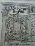 Antique Invitation to Coronation King George V Queen Mary 1911 Sir Alan Reeve Manby